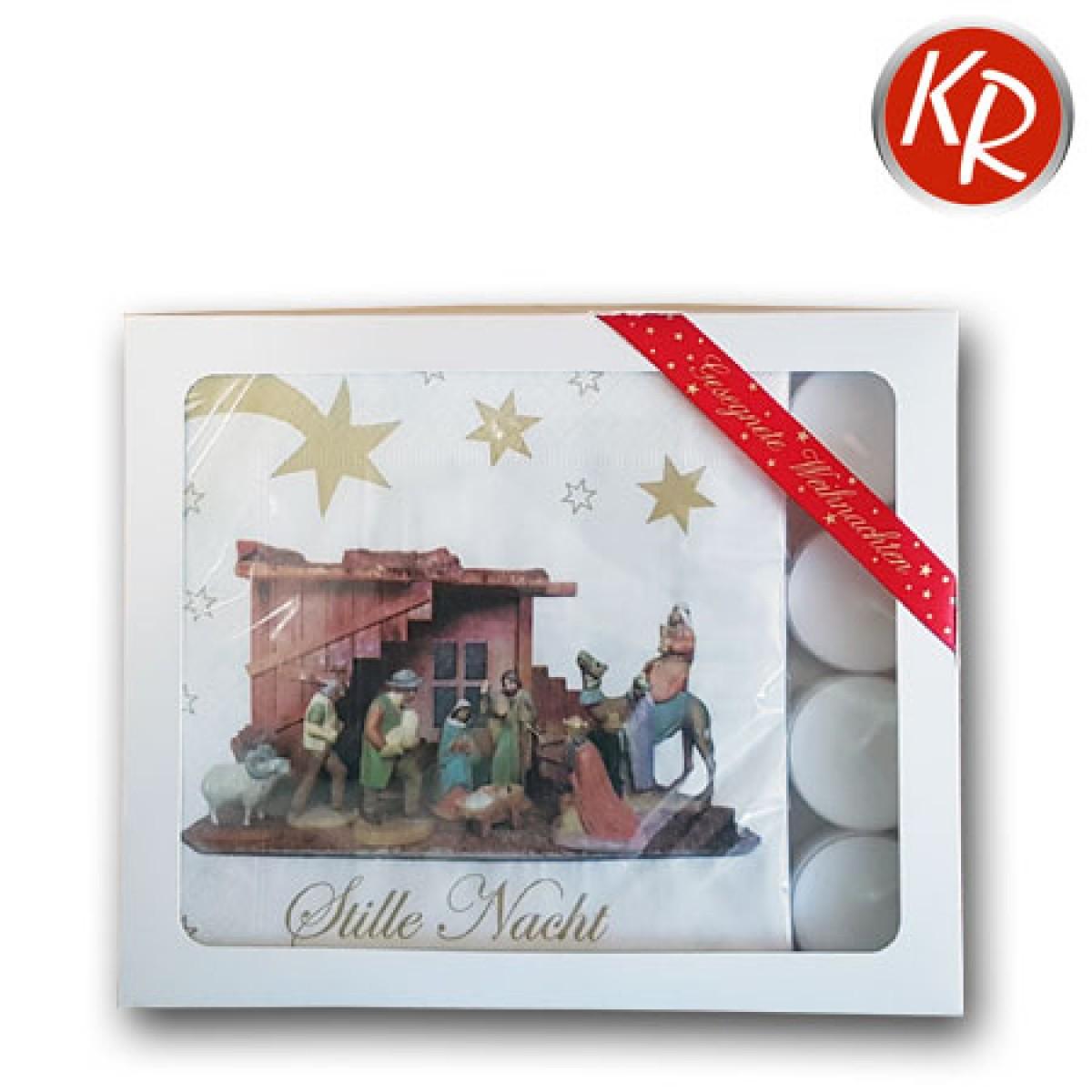 """Geschenkbox Servietten """"Stille Nacht""""  75-0001"""