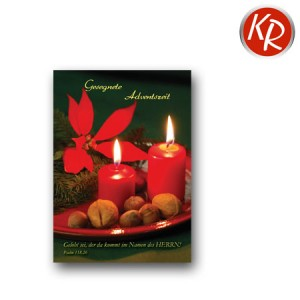 12er-Pack Postkarten Advent 10-0022