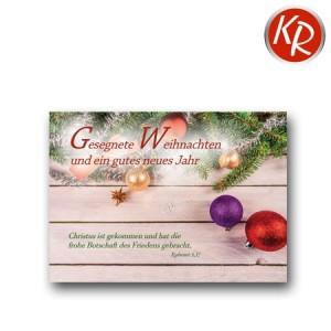 Postkarte Weihnachten 11-0070
