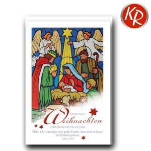 Faltkarte Weihnachten 14-0340