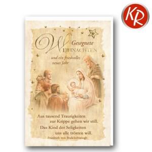 Faltkarte Weihnachten 14-0373