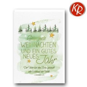 Faltkarte Weihnachten 14-0374