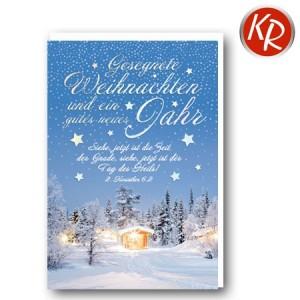 Faltkarte Weihnachten 14-0375