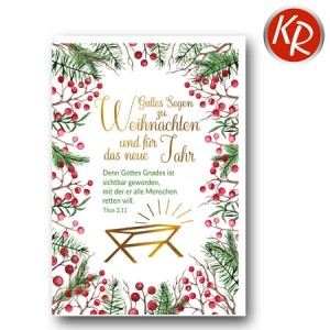 Faltkarte Weihnachten 14-0376