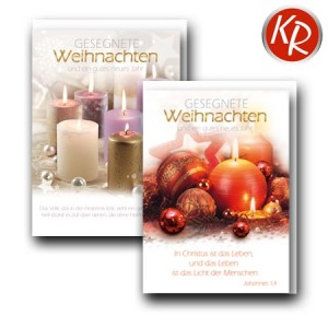 10er Serie Weihnachtskarten 15-0018