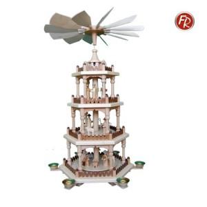 Pyramide mit 4 Etagen Christi Geburt 3212