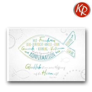 Faltkarte Konfirmation  20-0261