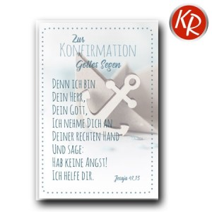 Faltkarte Konfirmation  20-0262