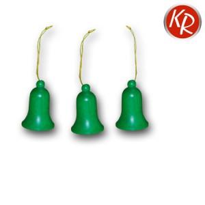 3er-Set Glocken grün 2121