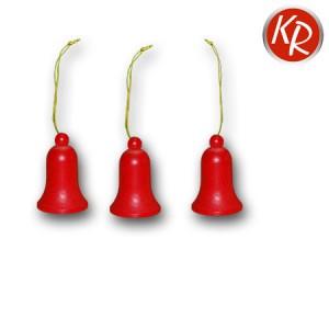 3er-Set Glocken rot 2122
