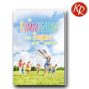 Faltkarte Kommunion 22-0148