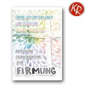 Faltkarte Firmung 23-0076