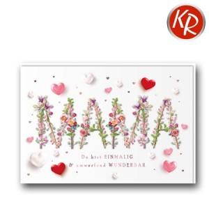 Faltkarte Muttertag 25-0032