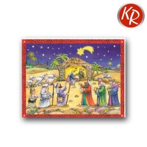 Adventskalenderkarte 27-1409
