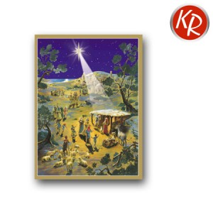 Adventskalenderkarte 27-1410