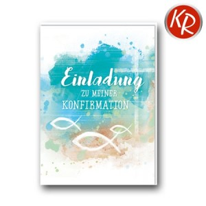 5er-Pack Einladung Konfirmation 29-0029