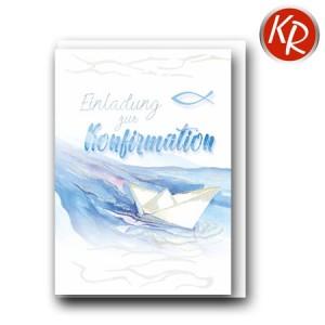 5er-Pack Einladung Konfirmation 29-0031