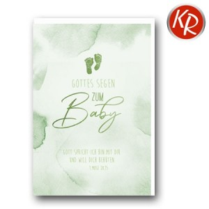 Faltkarte Geburt 30-0167