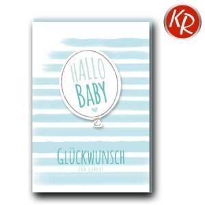 Faltkarte Geburt 30-0173