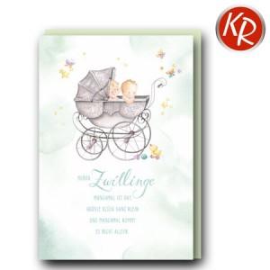 Faltkarte Geburt  30-0178