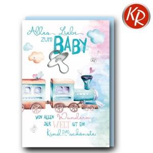Faltkarte Geburt  30-0179
