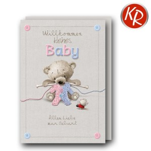 Faltkarte Geburt  30-0184