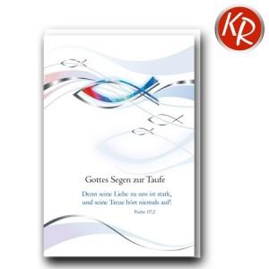 Faltkarte Taufe 31-0213