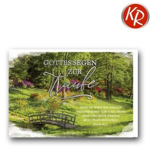 Faltkarte Taufe 31-0296