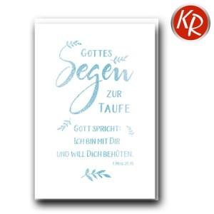 Faltkarte Taufe 31-0297
