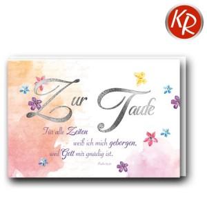 Faltkarte Taufe 31-0302