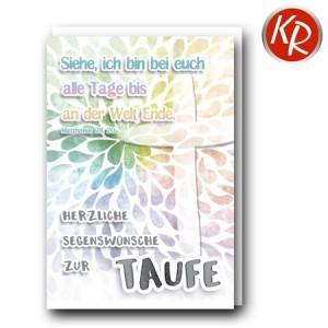 Faltkarte Taufe 31-0303