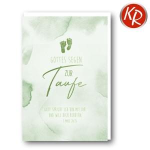 Faltkarte Taufe 31-0307