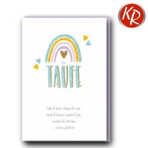Faltkarte Taufe 31-0310