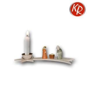 """Krippenminiatur """"Stern von Bethlehem"""" mit Kerze 3251"""