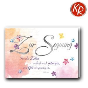 Faltkarte Segnung 33-0013