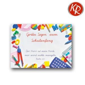 Postkarte Schulanfang 39-0013