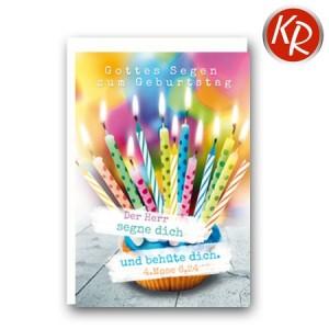 Faltkarte Geburtstag 40-0492