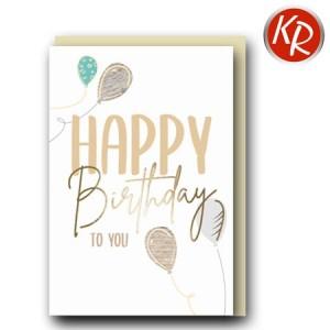Faltkarte Geburtstag 40-0579