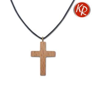 Halskette Kreuz Buche 4205