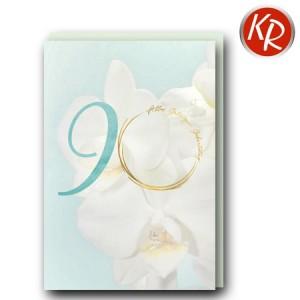 Faltkarte zum 90. Geburtstag  45-0890