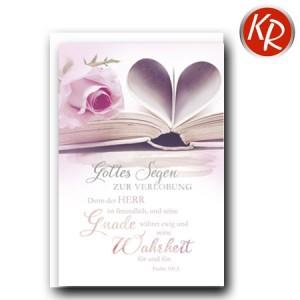 Faltkarte Verlobung 50-0026
