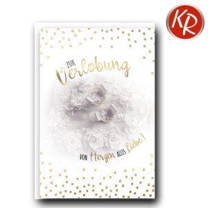Faltkarte Verlobung 50-0029