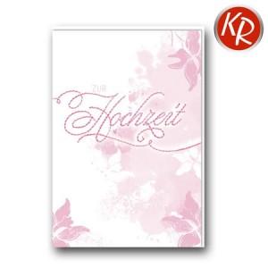 Faltkarte Hochzeit  51-0234