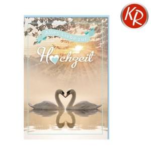 Faltkarte Hochzeit  51-0244