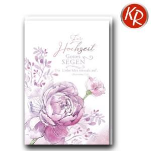 Faltkarte Hochzeit  51-0248