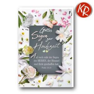 Faltkarte Hochzeit  51-0260