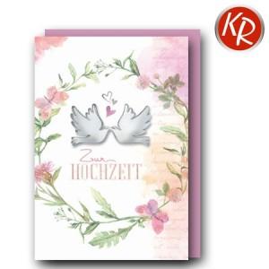 Faltkarte Hochzeit  51-0266