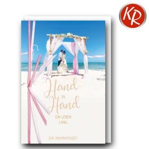 Faltkarte Hochzeit  51-0267
