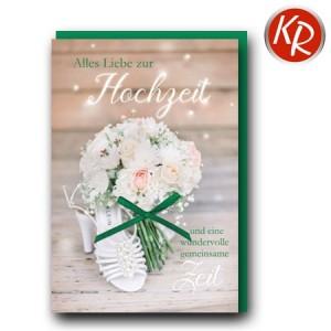 Faltkarte Hochzeit  51-0268