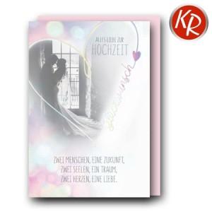 Faltkarte Hochzeit  51-0269